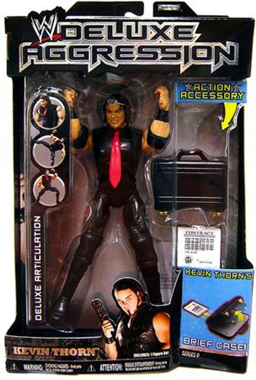 WWE Wrestling Deluxe Aggression Series 9 Kevin Thorn Action Figure