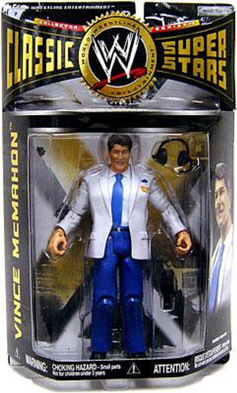 WWE Wrestling Classic Superstars Series 16 Vince McMahon Action Figure