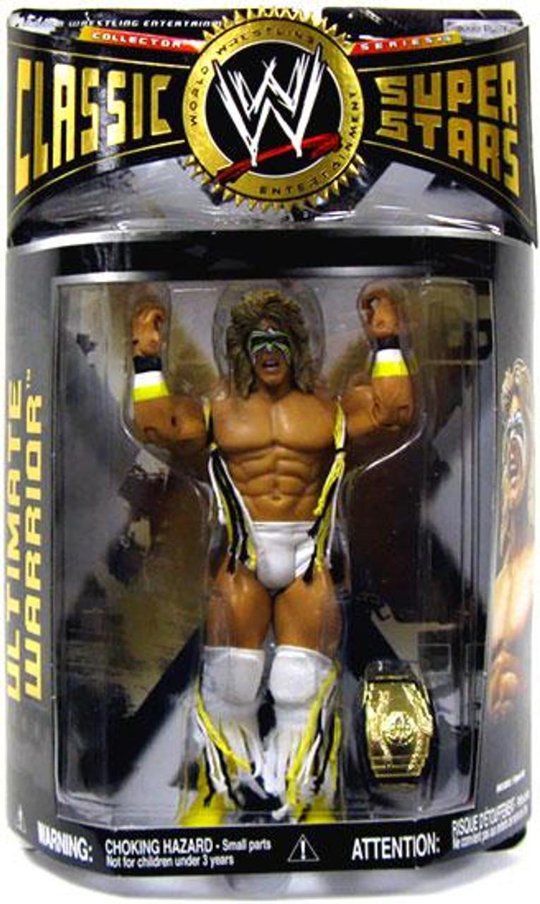 WWE Wrestling Classic Superstars Series 16 Ultimate Warrior Action Figure