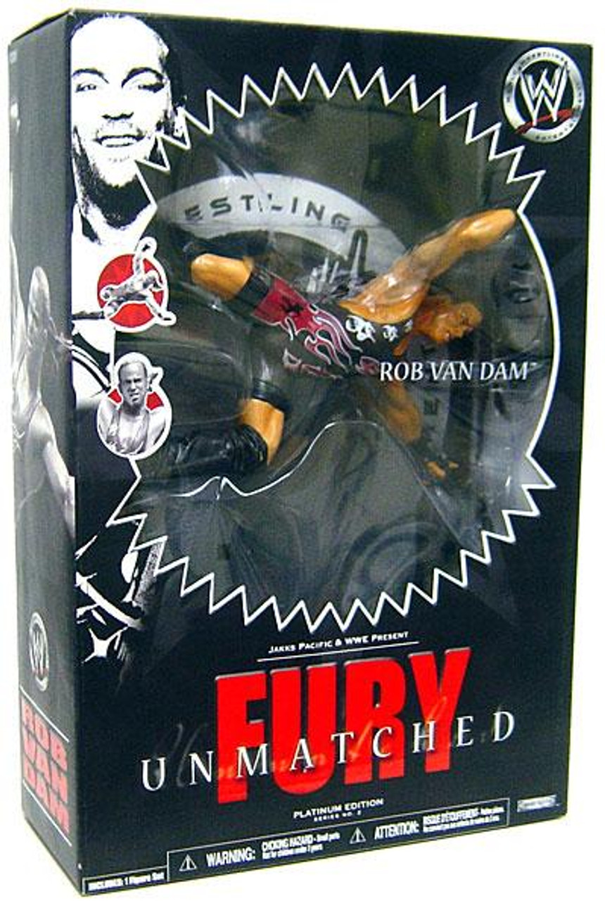 WWE Wrestling Unmatched Fury Series 2 Rob Van Dam Action Figure