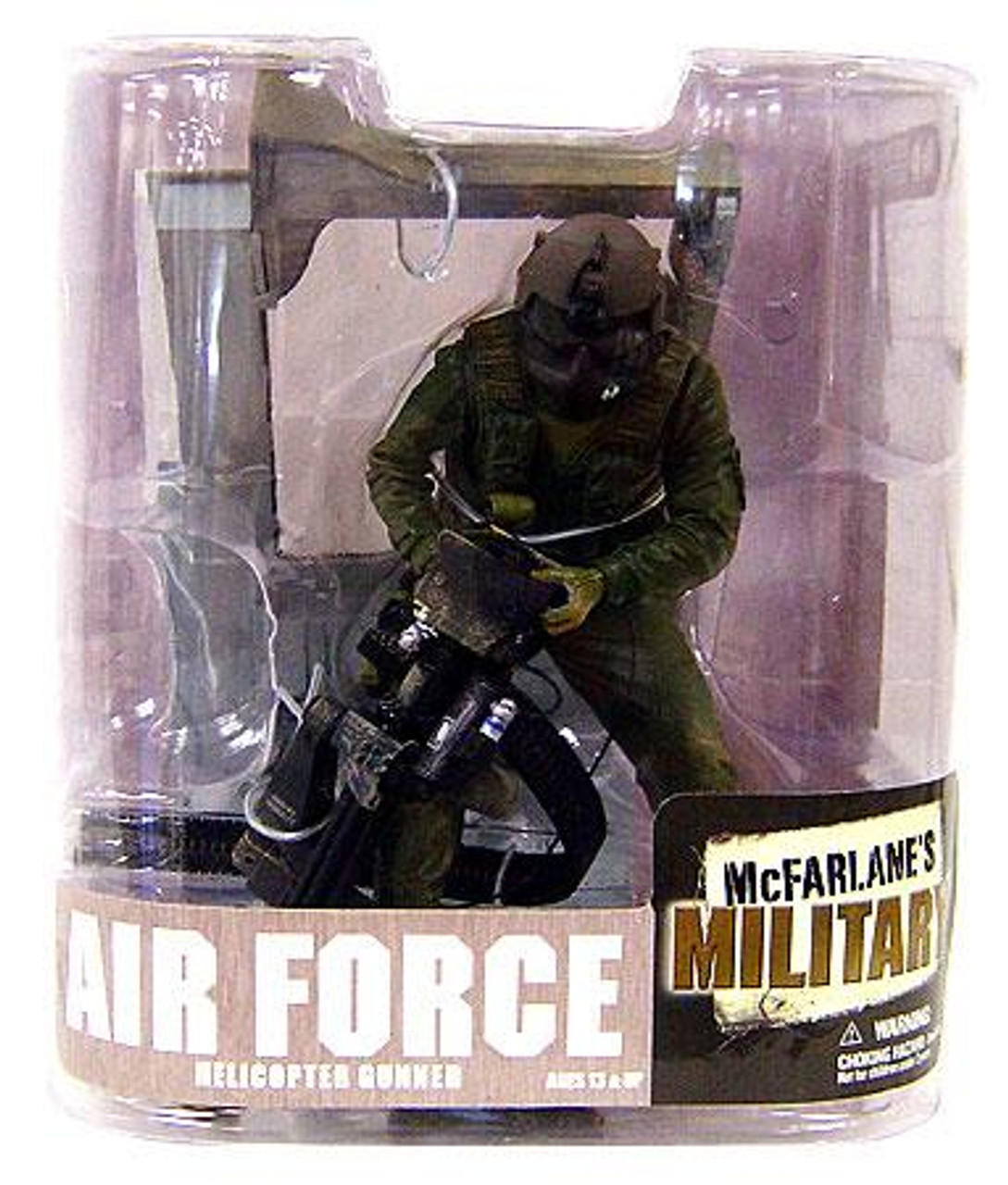 McFarlane Toys Military Series 6 Air Force Helicopter Gunner Action Figure [Random Ethnicity]