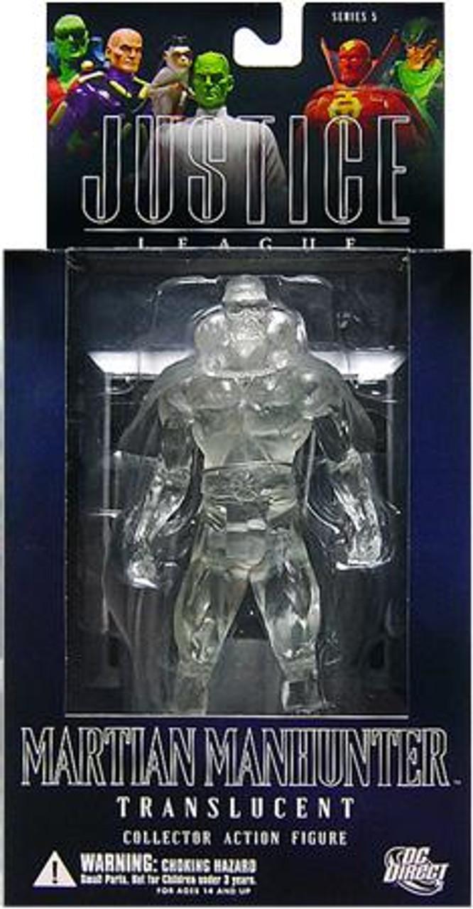 DC Alex Ross Justice League Series 5 Martian Manhunter Action Figure [Translucent]