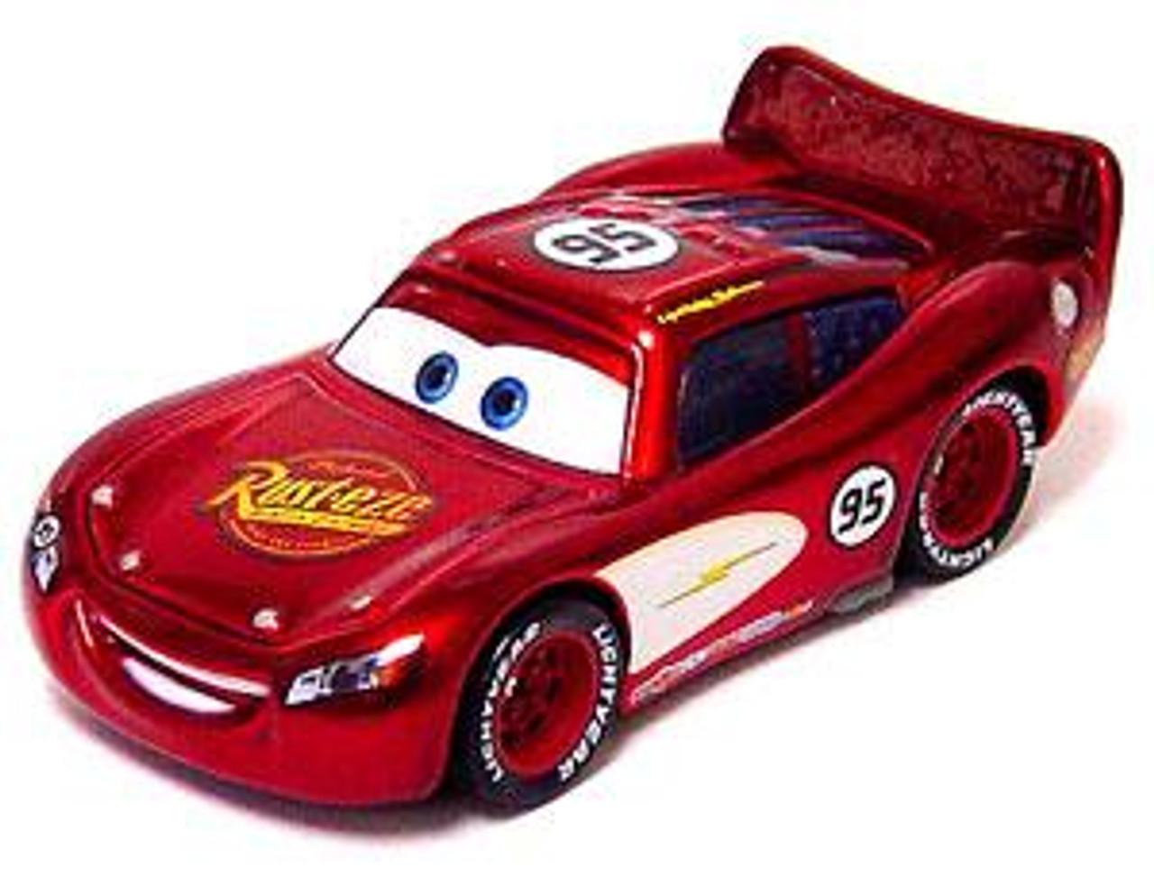Disney Cars Loose Radiator Springs Lightning McQueen Diecast Car [Loose]