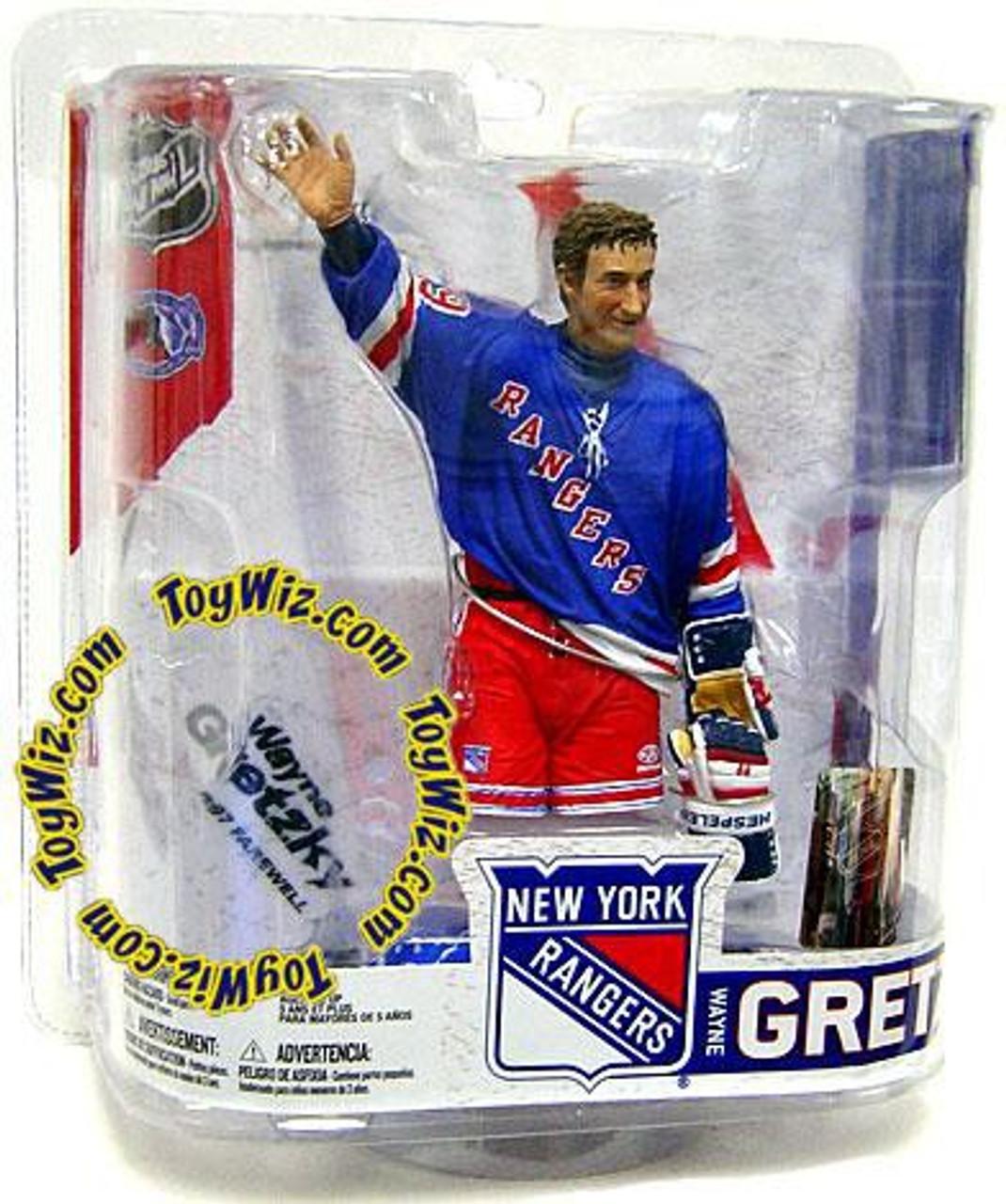 McFarlane Toys NHL New York Rangers Sports Picks Legends Series 6 Wayne Gretzky Action Figure [Blue Jersey]
