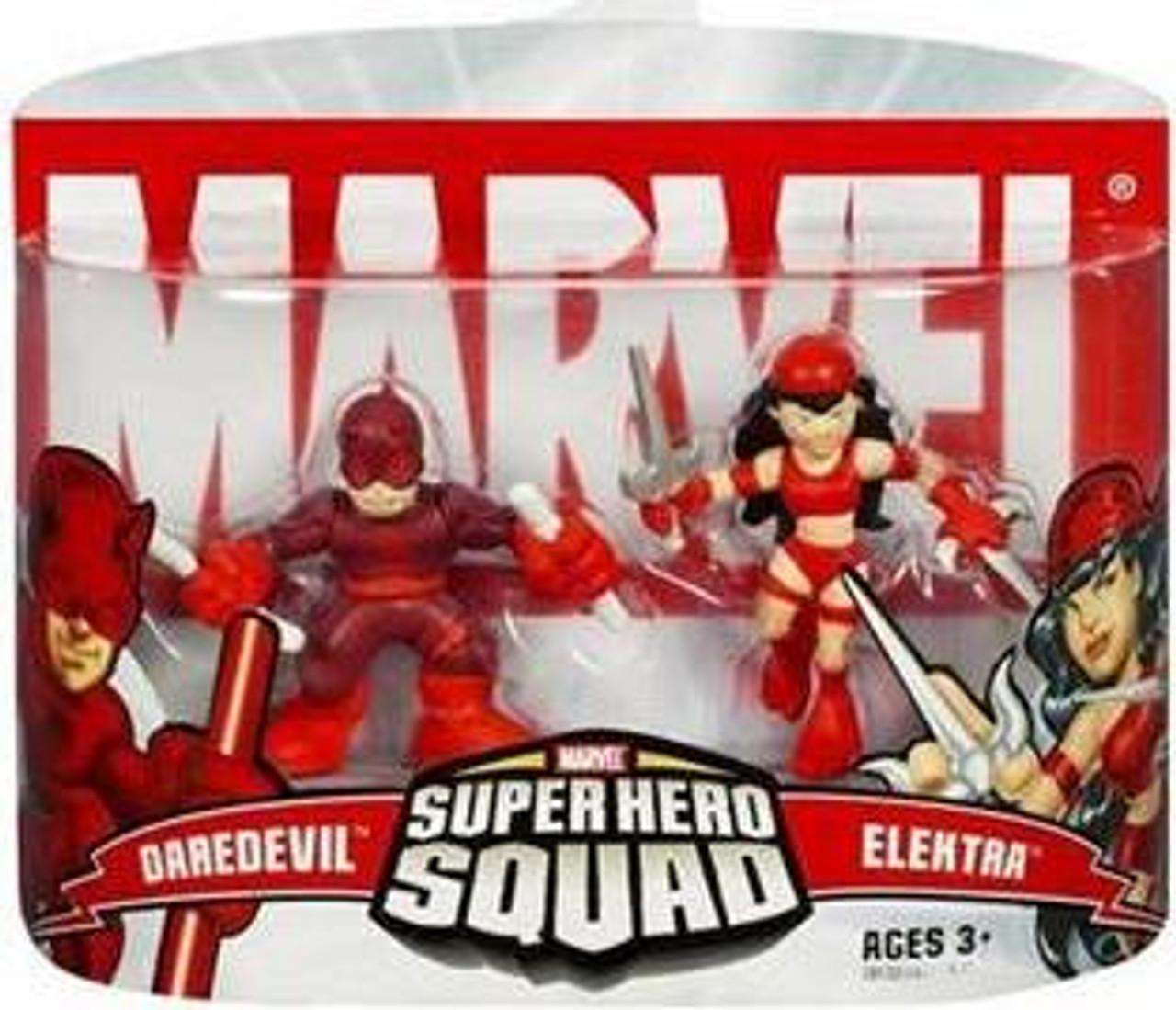 Marvel Super Hero Squad Series 2 Daredevil & Elektra Action Figure 2-Pack