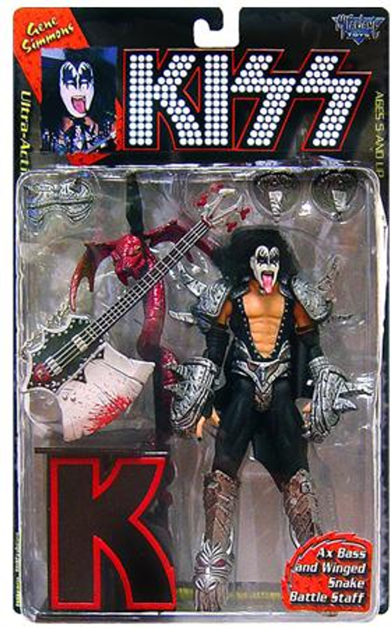 McFarlane Toys KISS Ultra Gene Simmons Action Figure