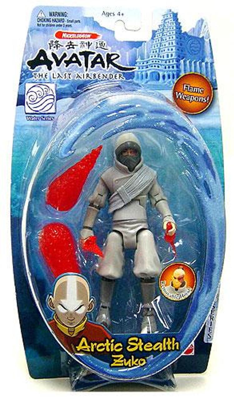 Avatar the Last Airbender Water Series Zuko Action Figure [Arctic Stealth]