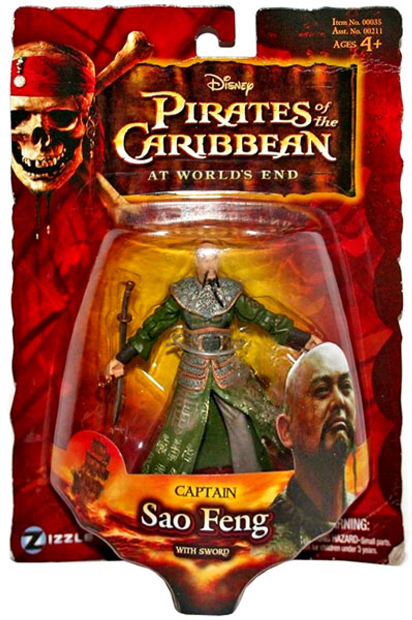 Pirates of the Caribbean At World's End Series 3 Captain Sao Feng Action Figure