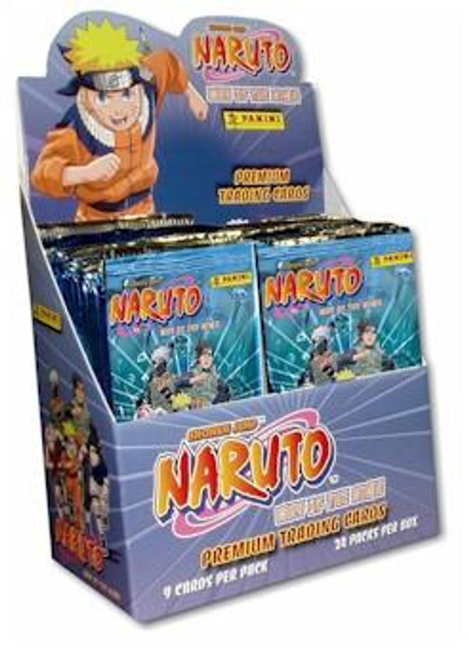 Naruto Way of the Ninja Trading Card Box