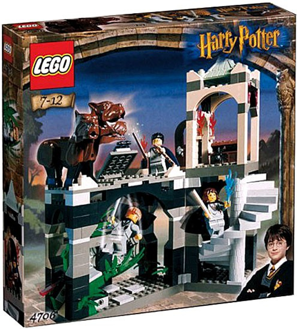 LEGO Harry Potter Series 1 Sorcerer's Stone Forbidden Corridor Set #4706
