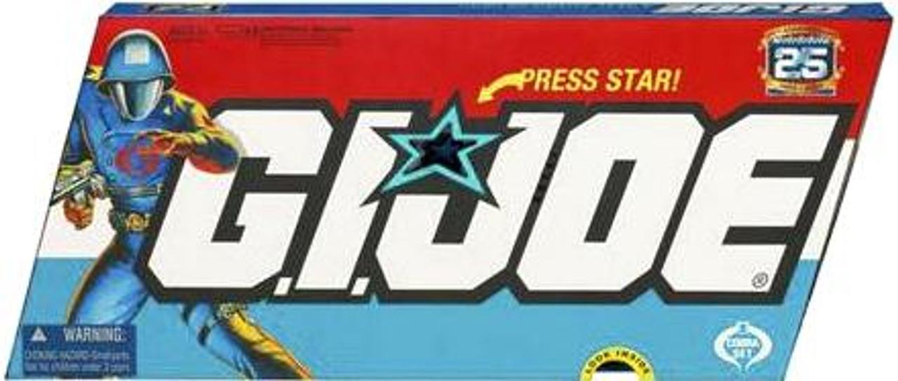 GI Joe 25th Anniversary Series 1 Cobra Action Figure 5-Pack