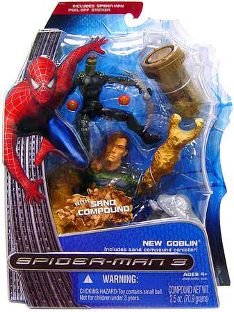 Spider-Man 3 New Goblin Action Figure