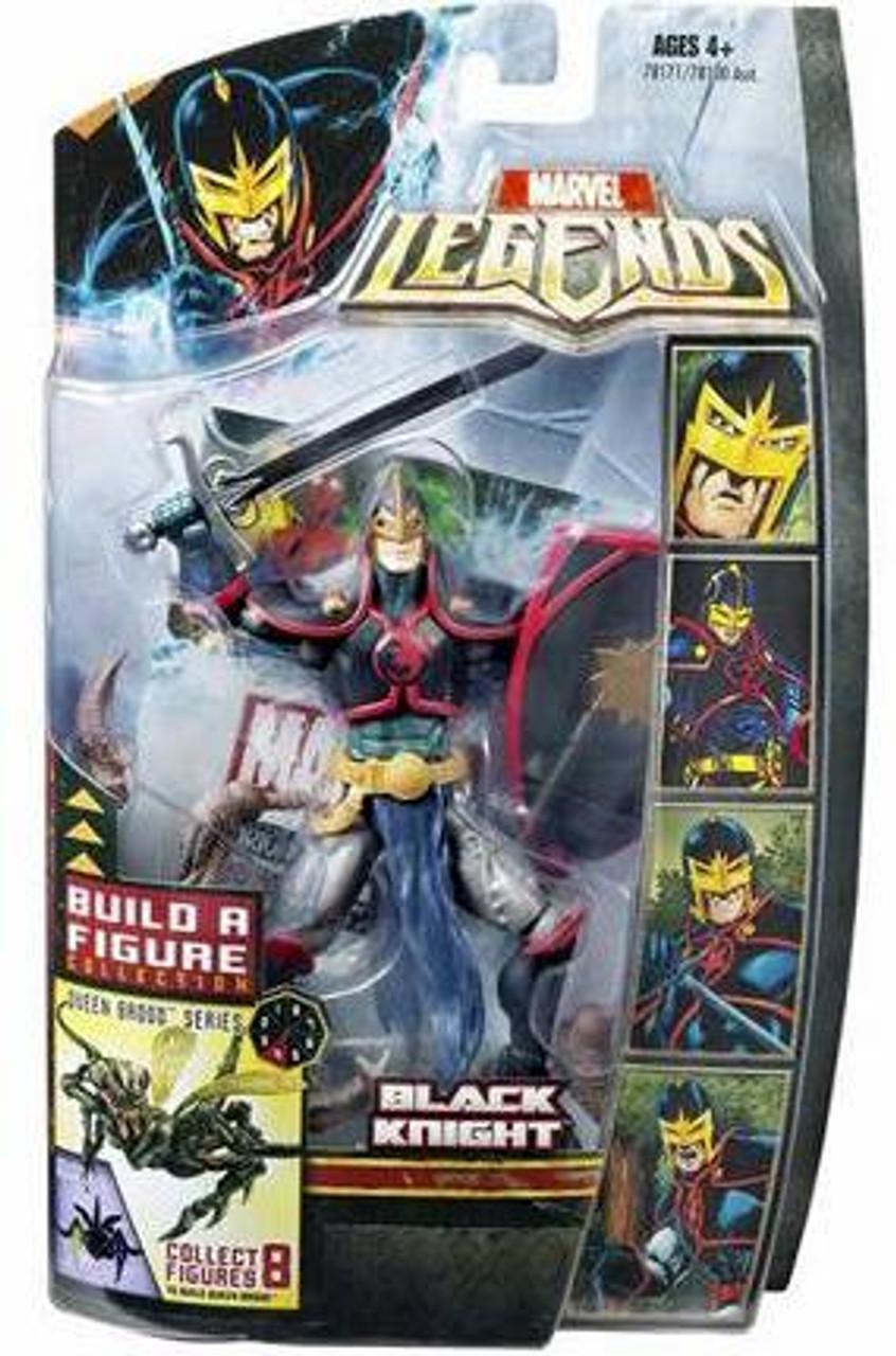 Marvel Legends Series 18 Brood Queen Black Knight Action Figure