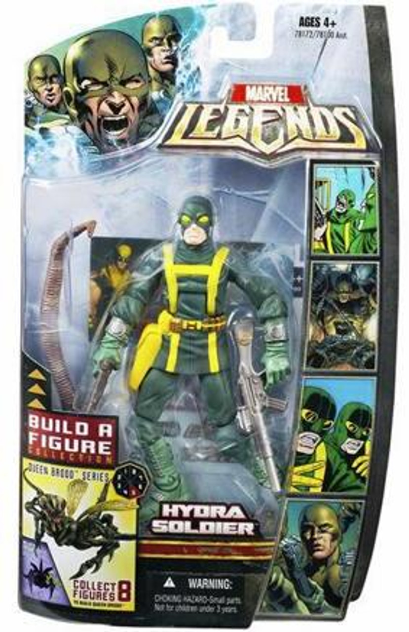Marvel Legends Series 18 Brood Queen Hydra Soldier Action Figure [Closed Mouth]