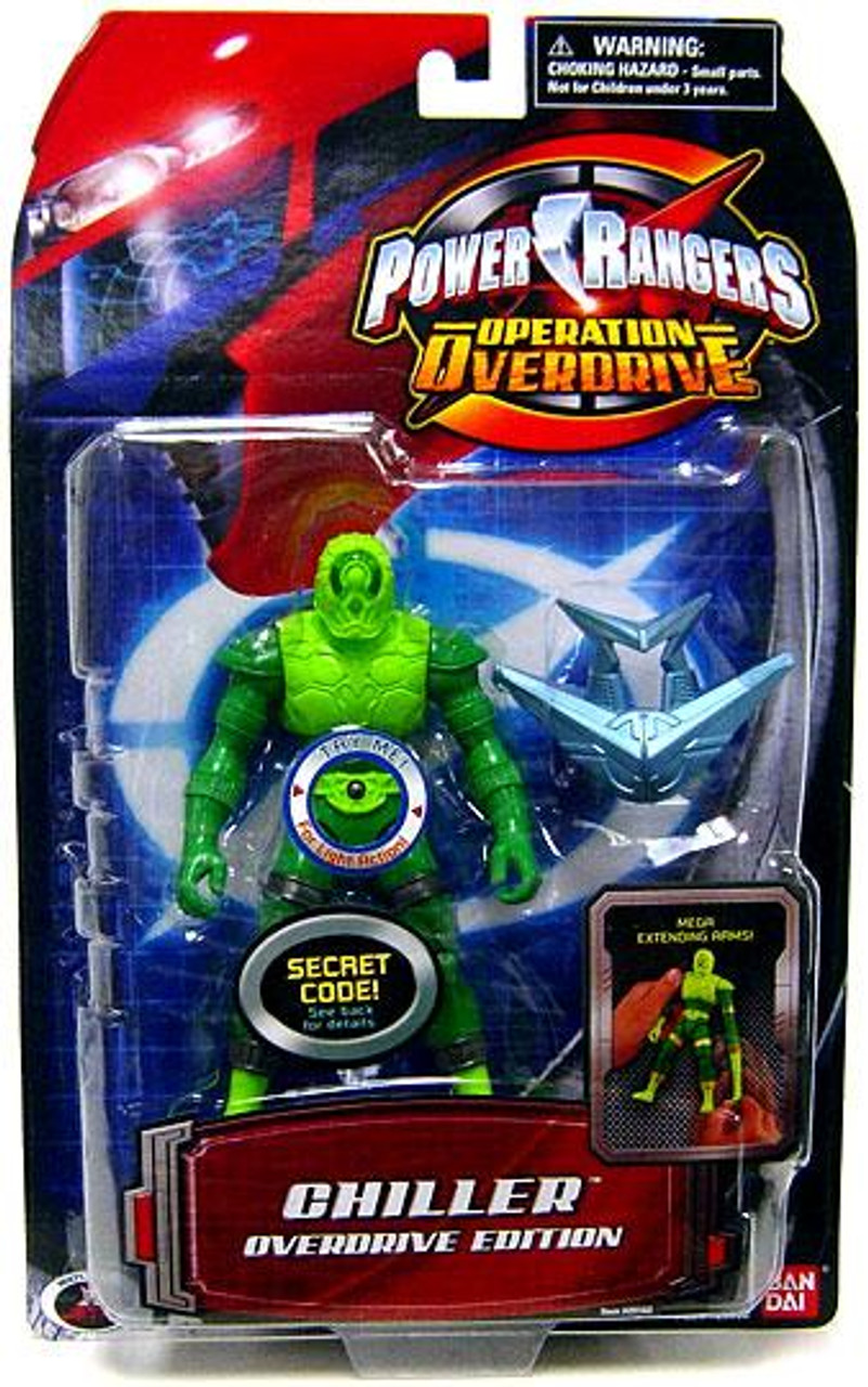 Power Rangers Operation Overdrive Chiller Overdrive Edition Action Figure