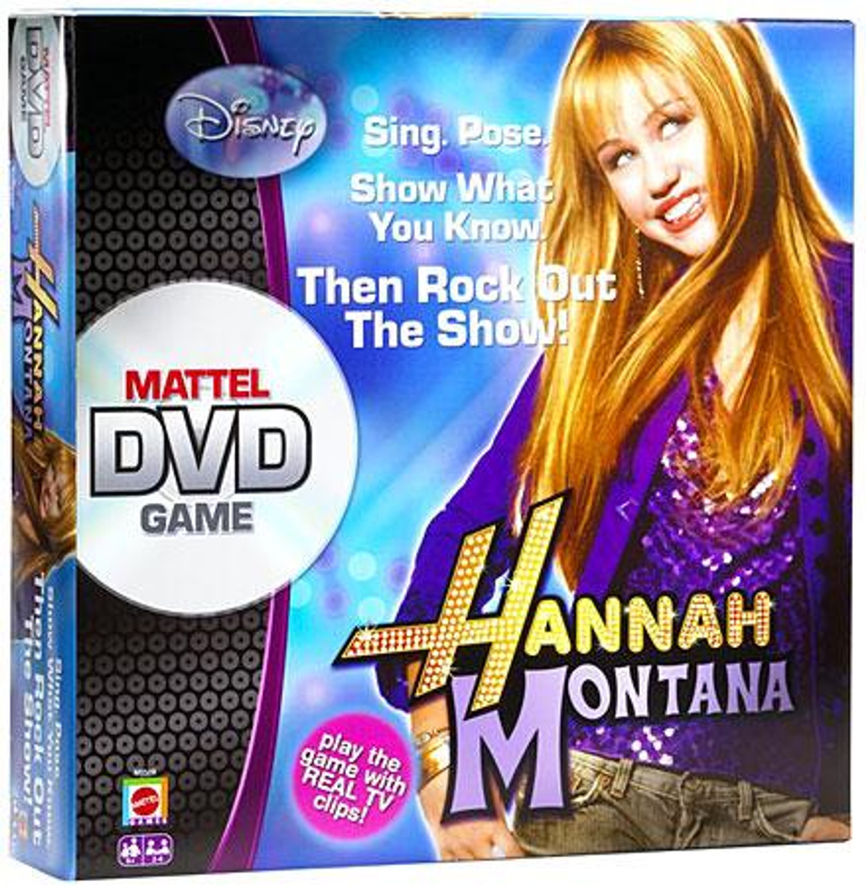 Disney Hannah Montana Official DVD Board Game