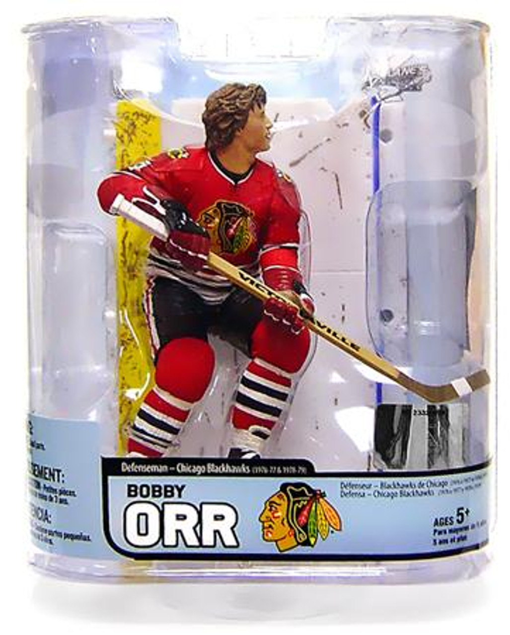 McFarlane Toys NHL Chicago Blackhawks Sports Picks Legends Series 5 Bobby Orr Action Figure