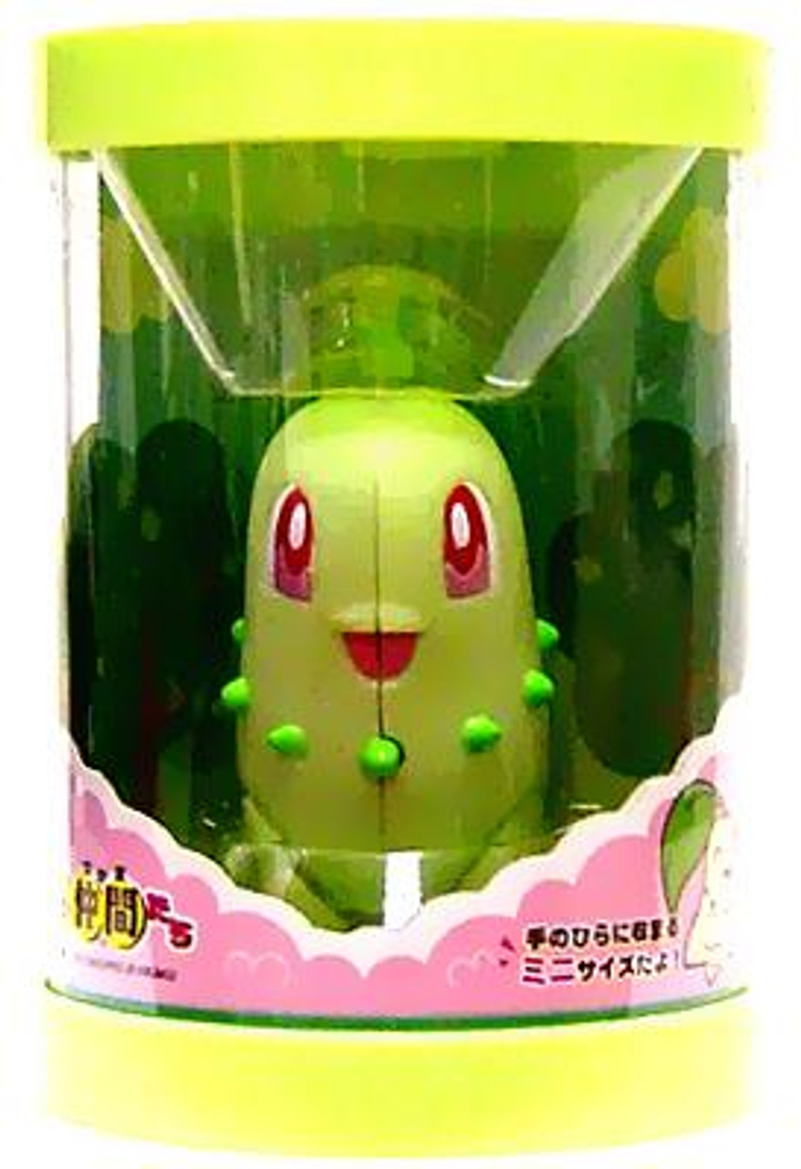 Pokemon Japanese Chikorita 1-Inch Mini Figure