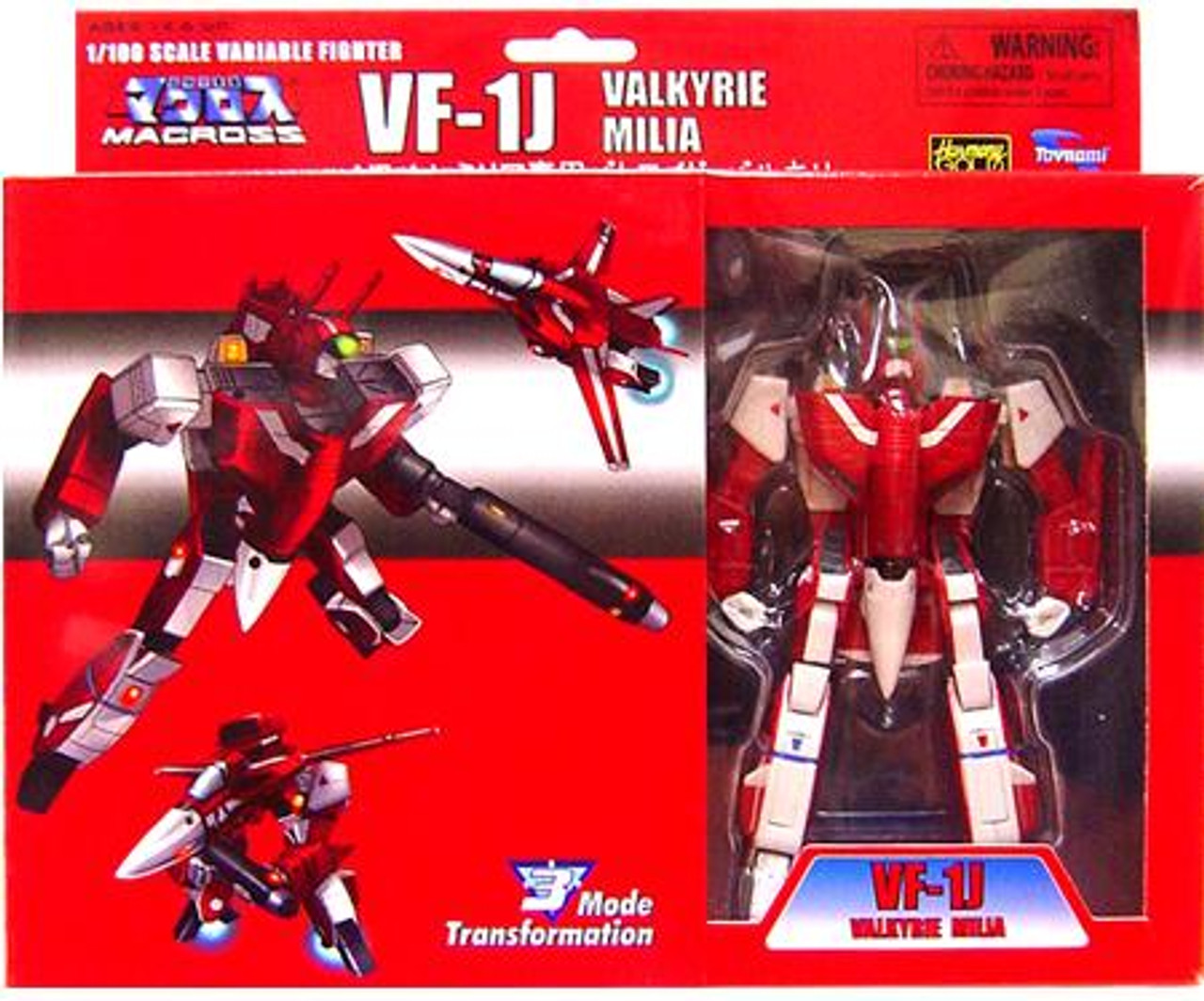 Macross Transformable Series 2 Veritech Milia's VF-1J Valkyrie Action Figure