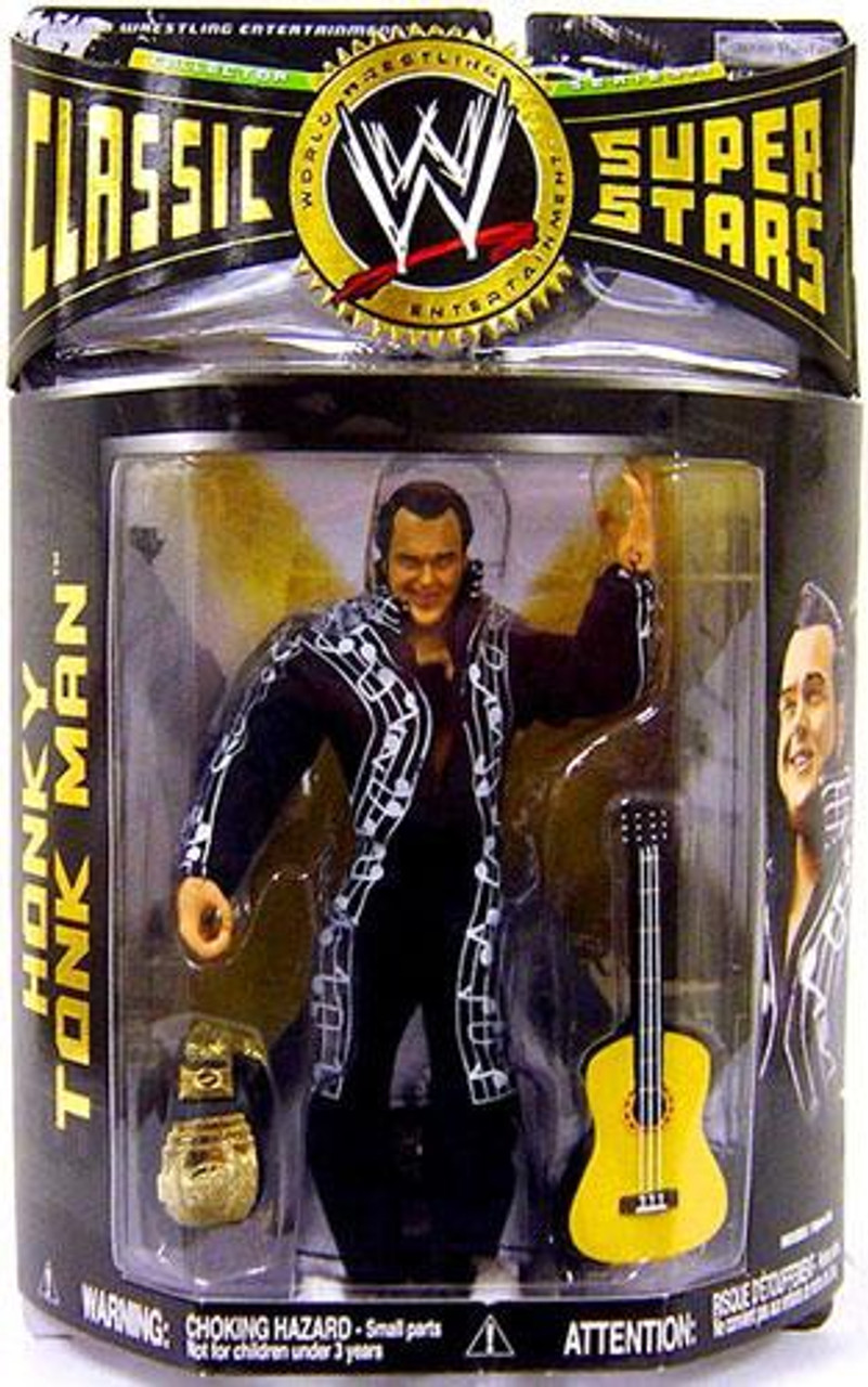 WWE Wrestling Classic Superstars Series 14 Honky Tonk Man Action Figure