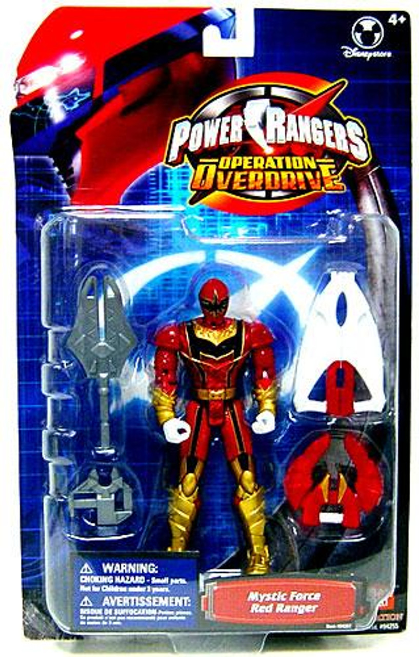 Power Rangers Operation Overdrive Mystic Force Red Ranger Exclusive Action Figure