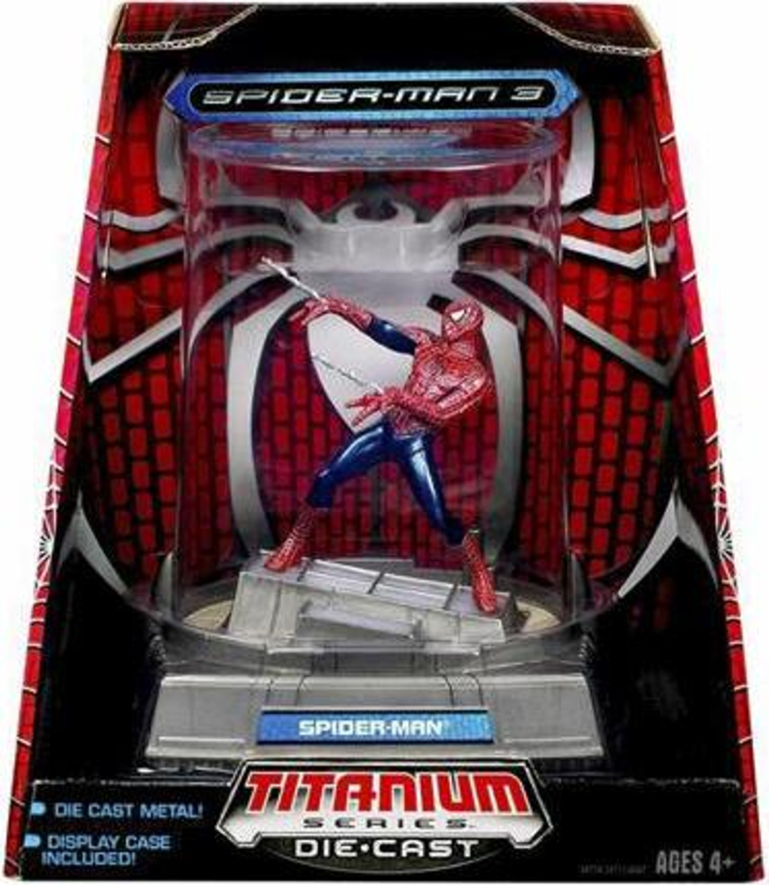 Spider-Man 3 TItanium Series Spider-Man Diecast Figure