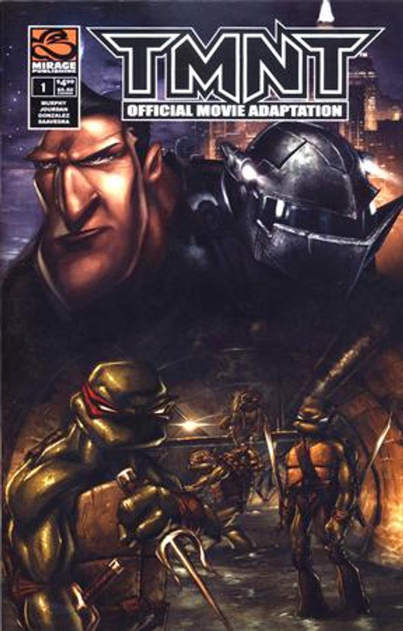 Teenage Mutant Ninja Turtles Official Movie Adaptation Comic Book #1