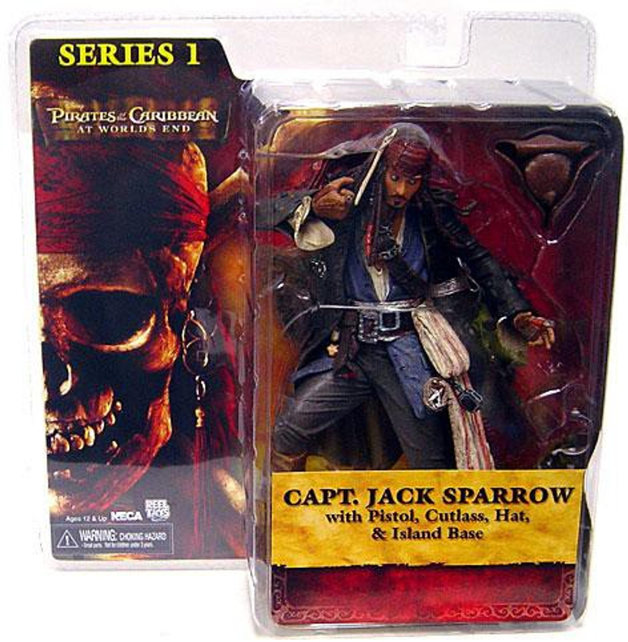 NECA Pirates of the Caribbean At World's End Captain Jack Sparrow Action Figure