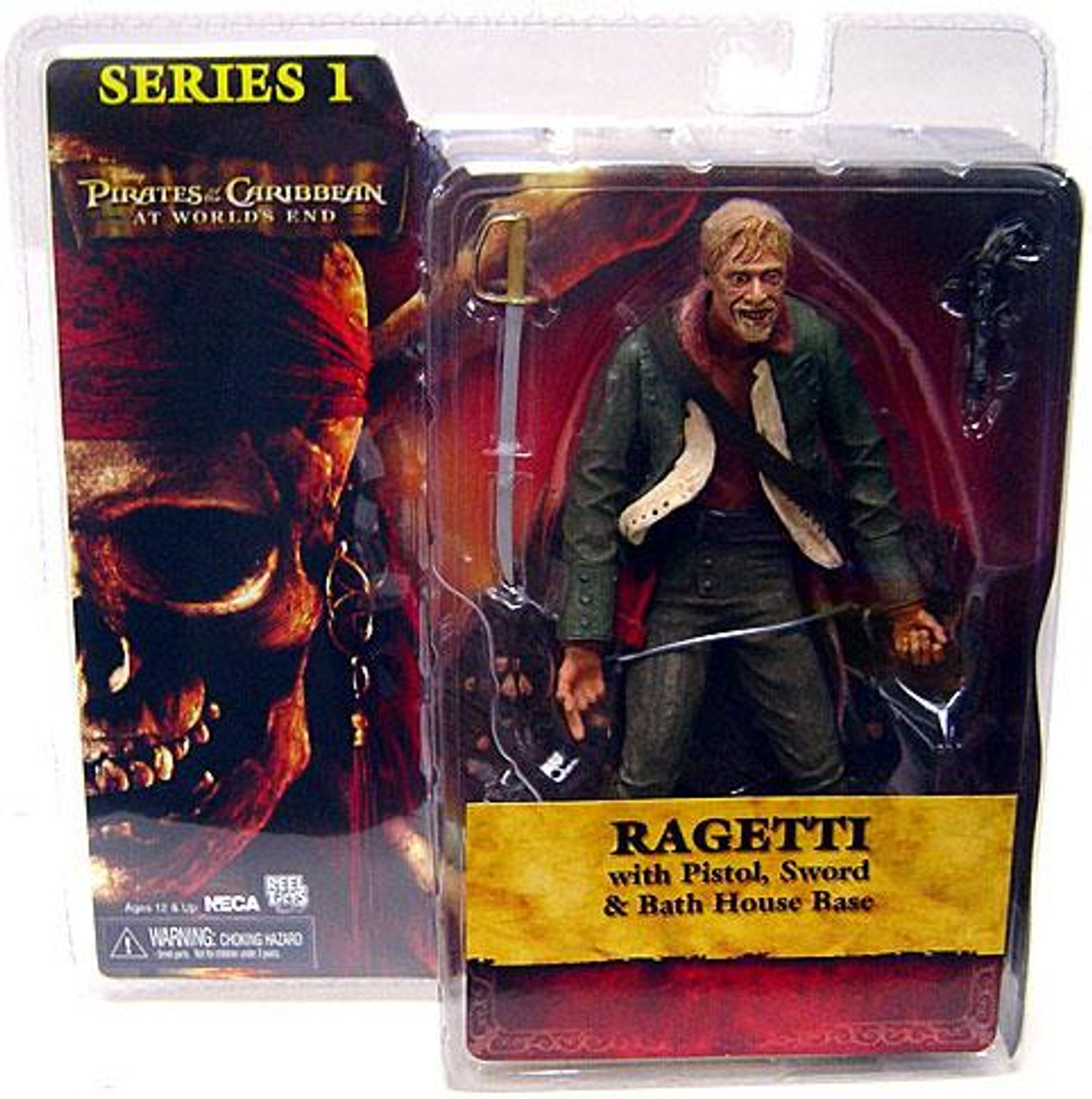 NECA Pirates of the Caribbean At World's End Series 1 Ragetti Action Figure