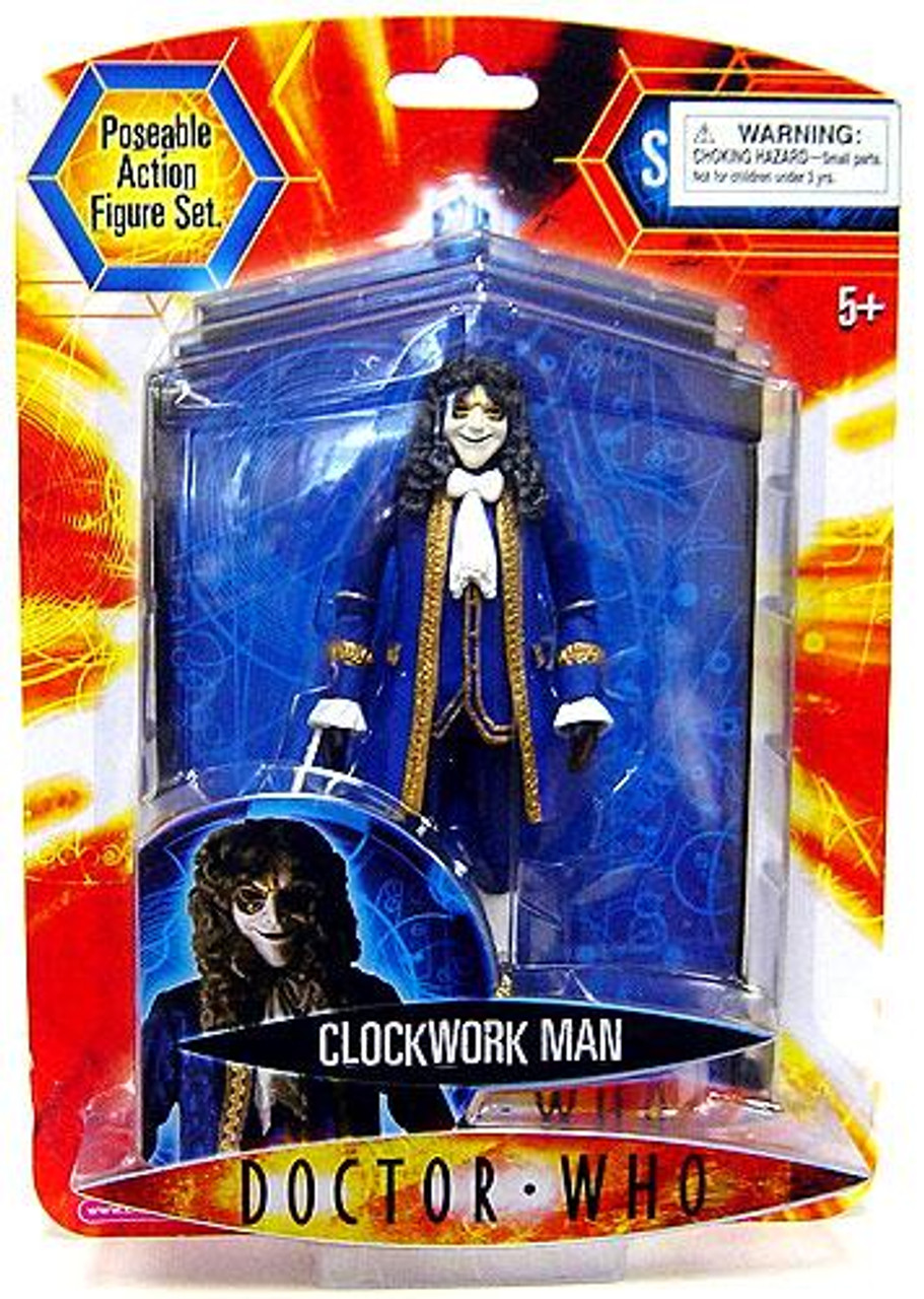Doctor Who Underground Toys Series 2 Clockwork Man Action Figure [Blue]