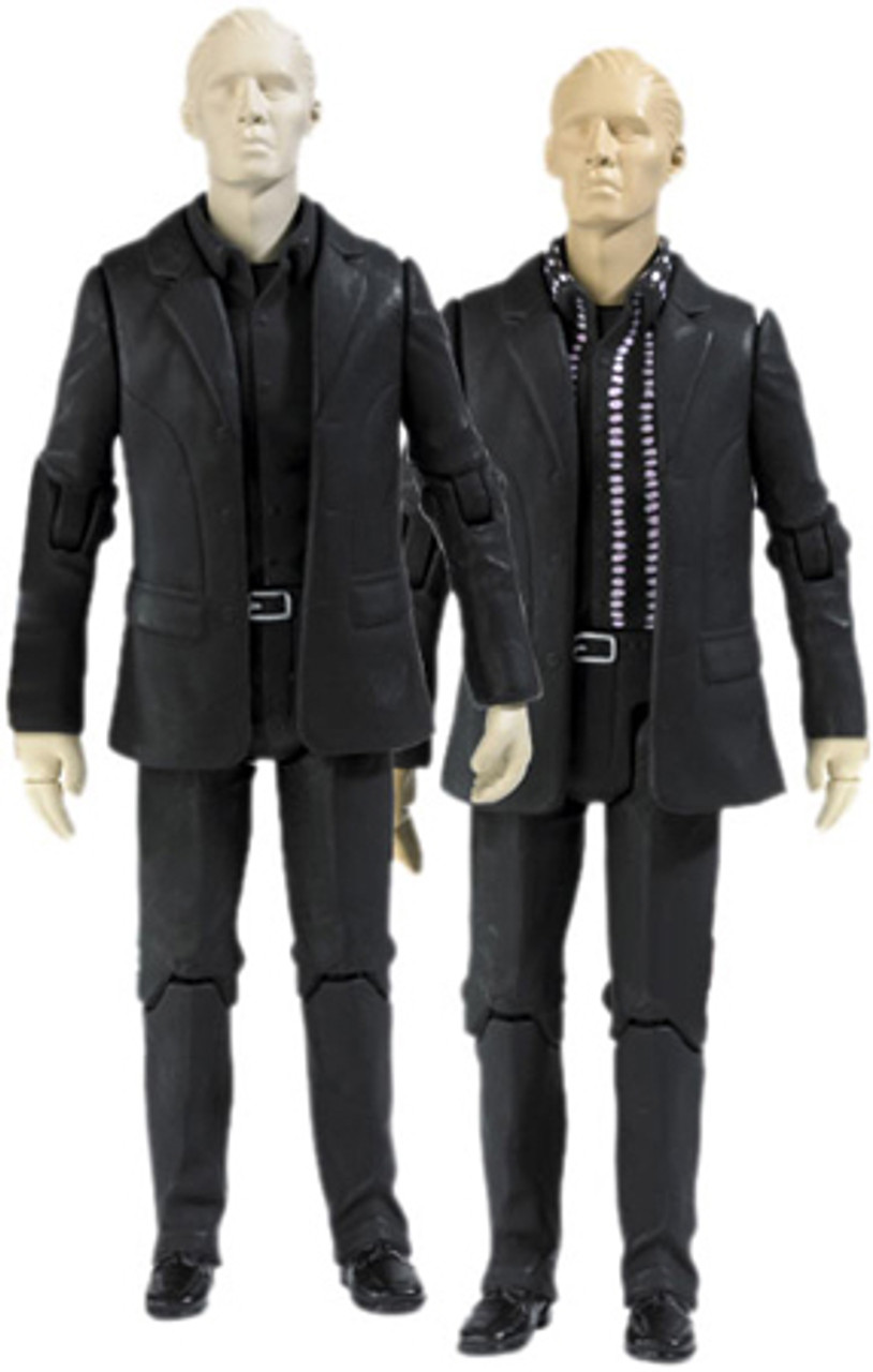 Doctor Who Underground Toys Series 1 Auton Twins Action Figure 2-Pack