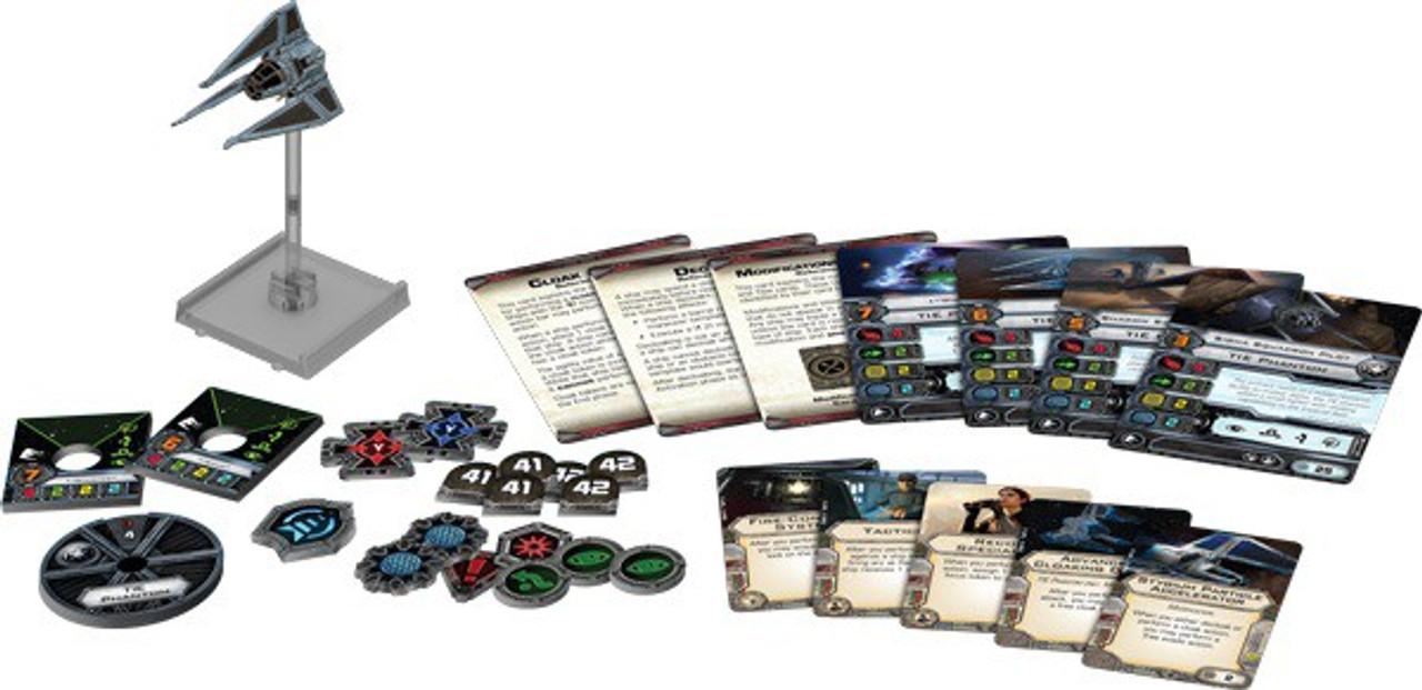 Star Wars X-Wing Miniatures Game TIE Phantom Expansion Pack