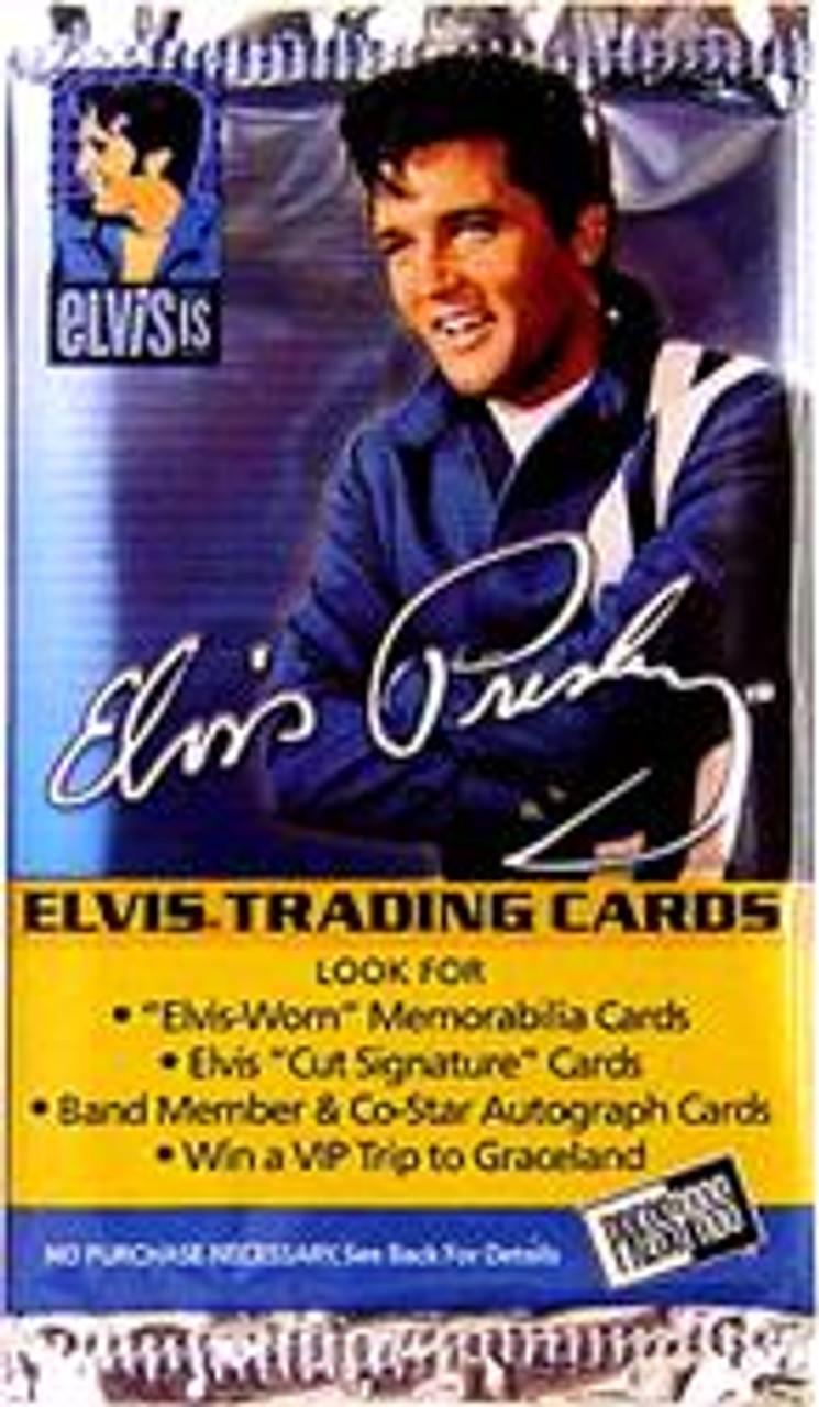 Elvis Presley Elvis Is Trading Card Pack