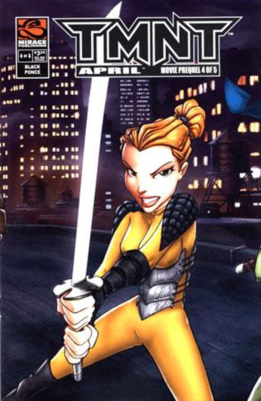 Teenage Mutant Ninja Turtles April Comic Book #4