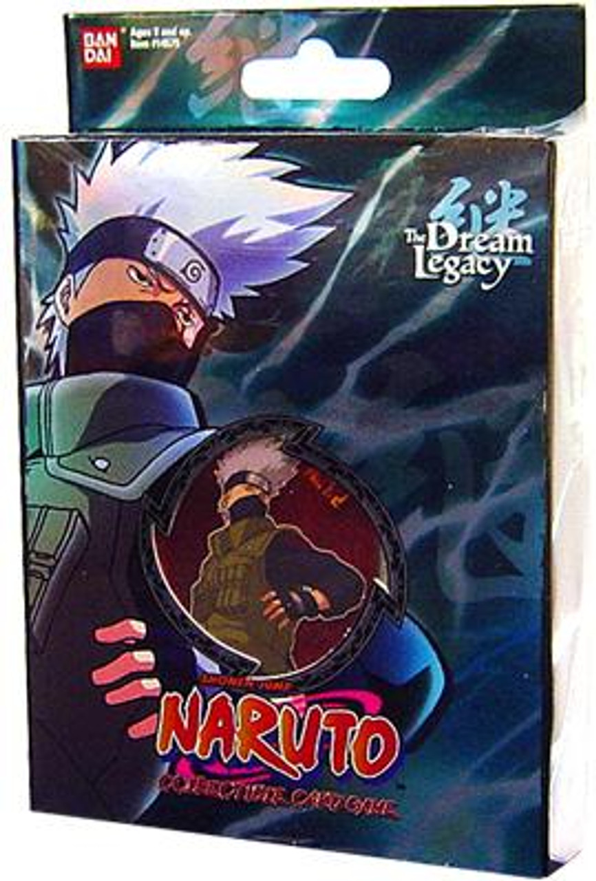 Naruto Card Game Dream Legacy Kakashi Theme Deck [B-1]