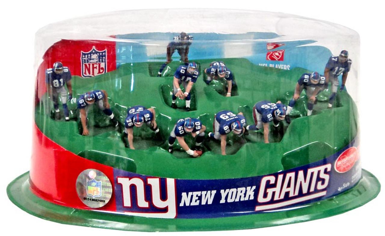 McFarlane Toys NFL Sports Picks Ultimate Team Sets New York Giants 2-Inch Team Set