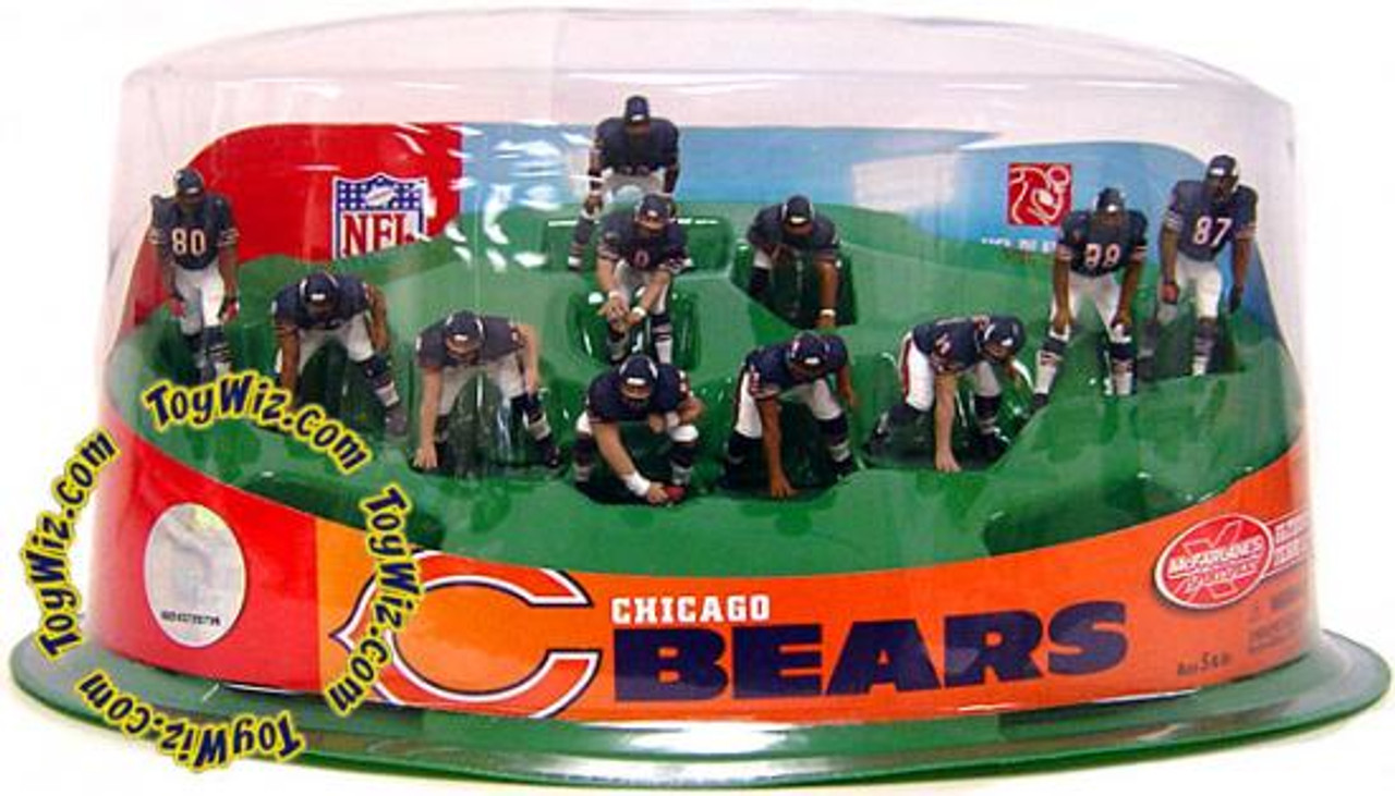McFarlane Toys NFL Sports Picks Ultimate Team Sets Chicago Bears Offense 2-Inch Team Set