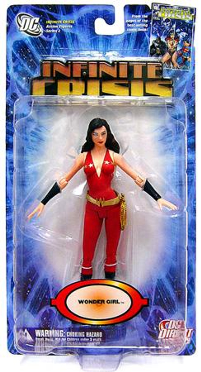 DC Infinite Crisis Series 2 Wonder Girl Action Figure