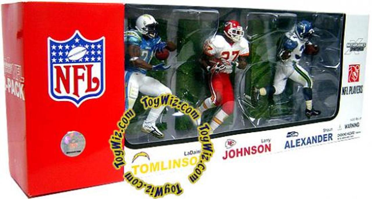 McFarlane Toys NFL Sports Picks 3-Packs Elite Club Running Backs Exclusive Action Figure 3-Pack