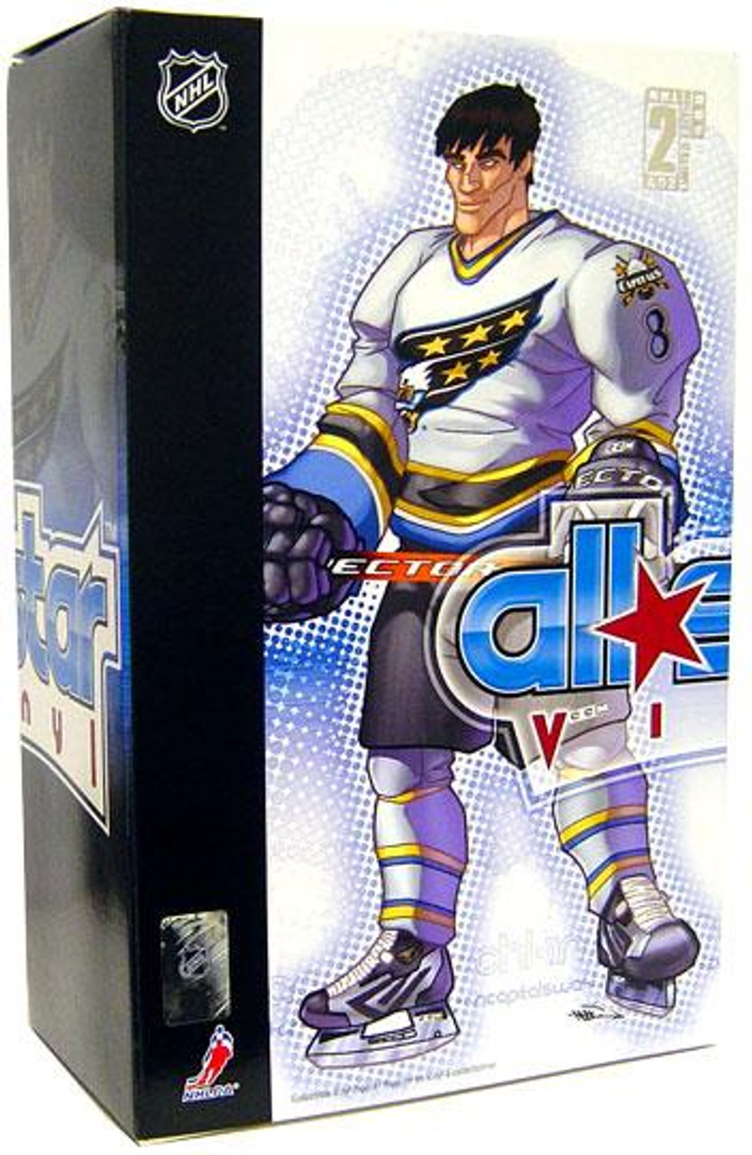 NHL Washington Capitals All Star Vinyl Alexander Ovechkin Vinyl Figure [White Away Jersey]