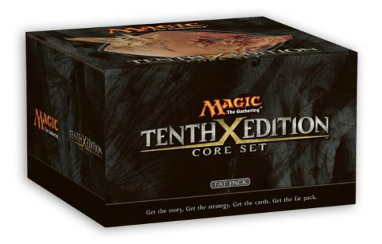 MtG Tenth Edition Fat Pack [Sealed]