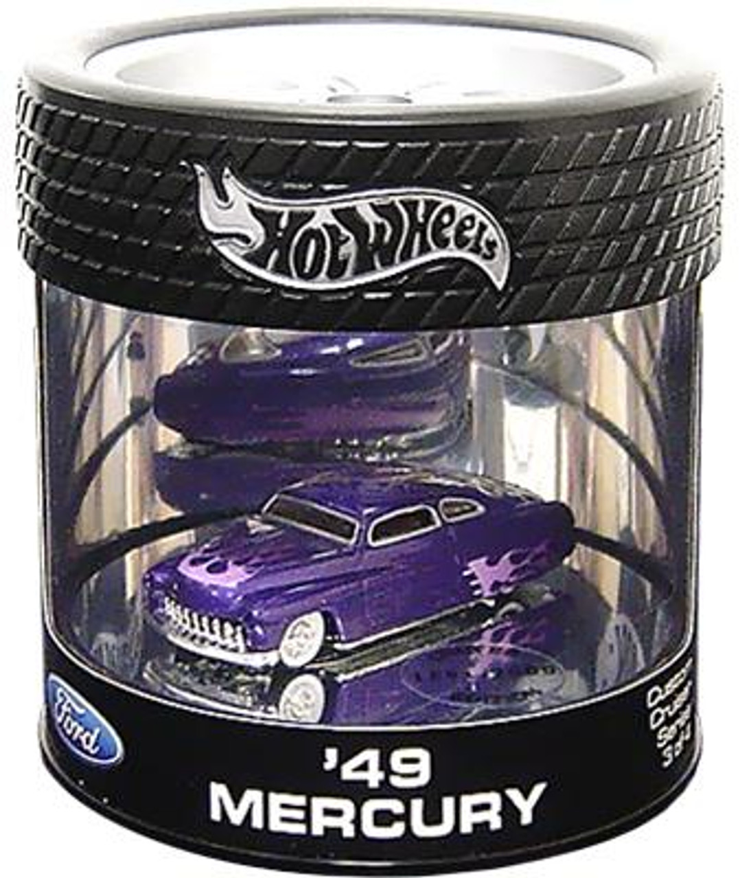 Hot Wheels Ford Custom Crusier Series '49 Mercury Diecast Vehicle