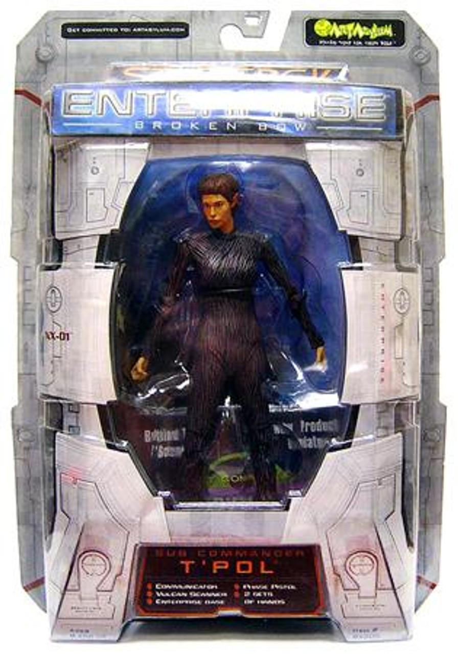 Star Trek Enterprise Sub-Commander T'Pol Action Figure