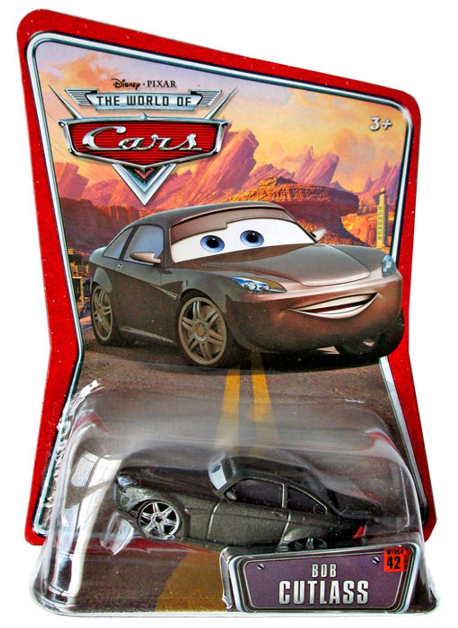 Disney Cars The World of Cars Series 1 Bob Cutlass Diecast Car #42