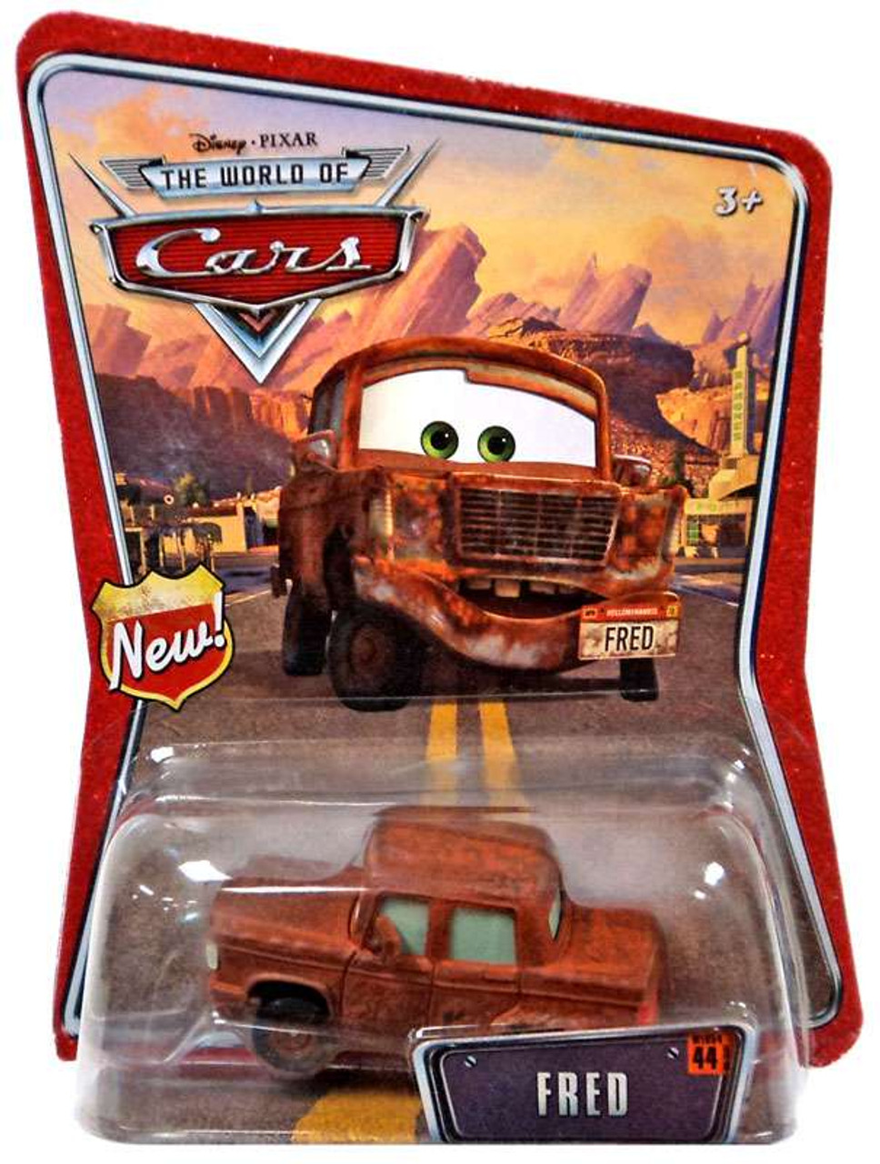 Disney Cars The World of Cars Fred Diecast Car #44