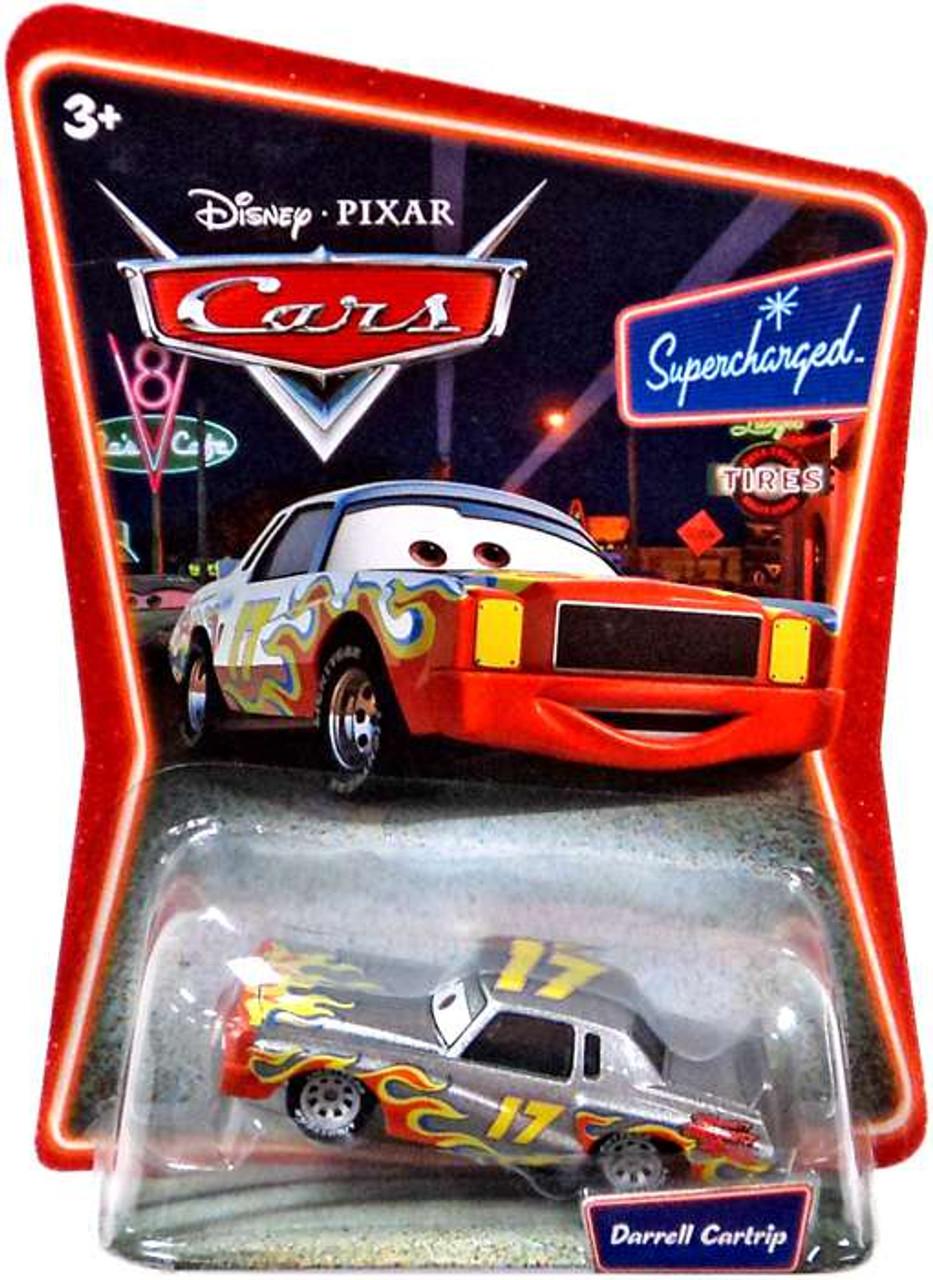 Disney Cars The World of Cars Series 1 Darrell Cartrip Diecast Car #43