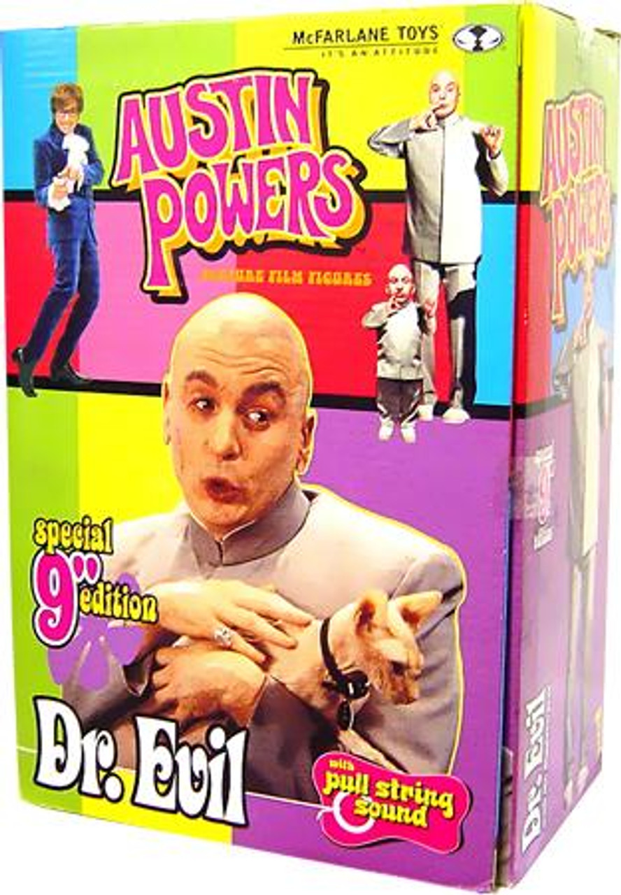 McFarlane Toys Austin Powers Dr. Evil Action Figure [Damaged Package]
