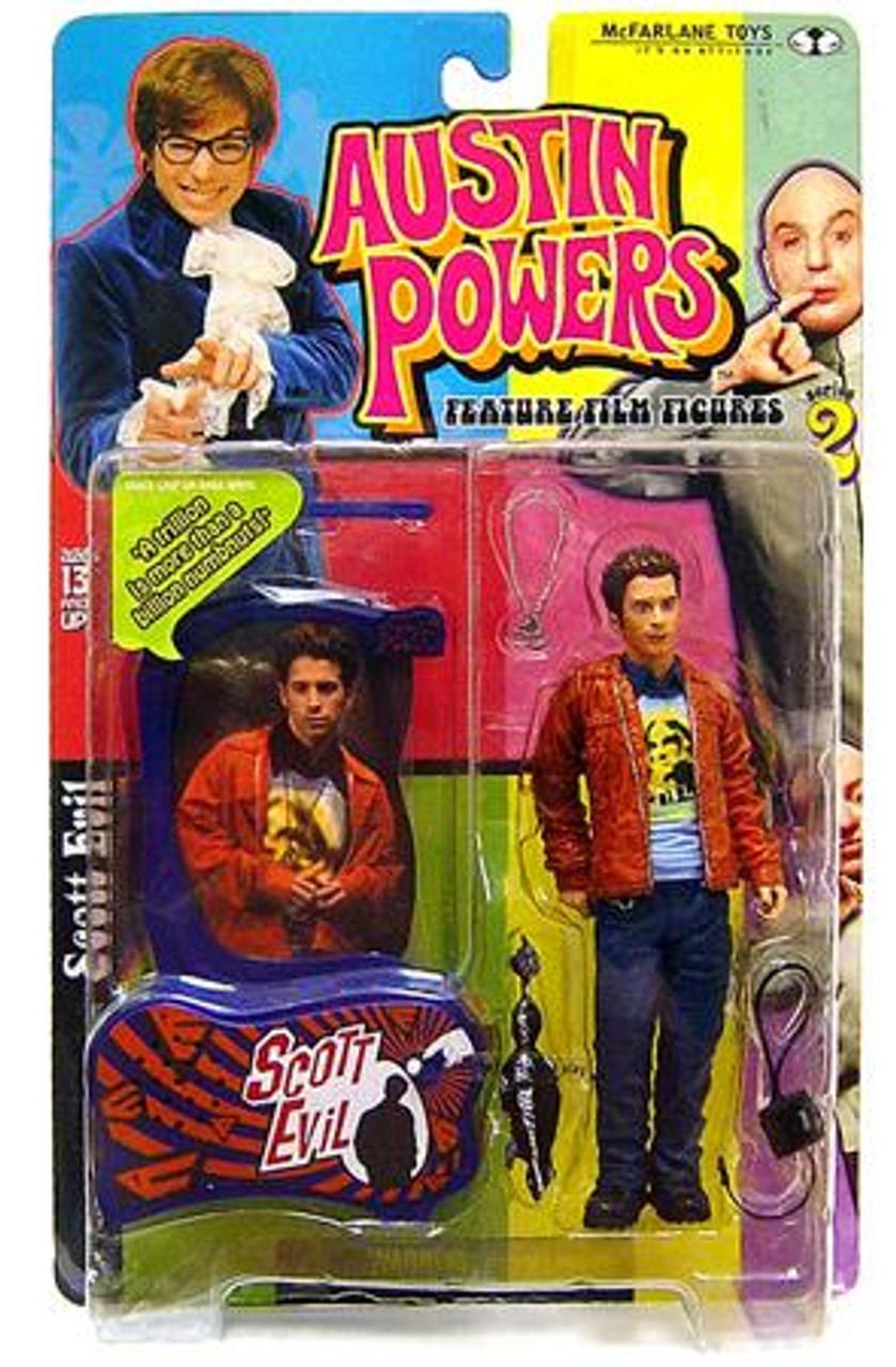 McFarlane Toys Austin Powers Series 2 Scott Evil Action Figure