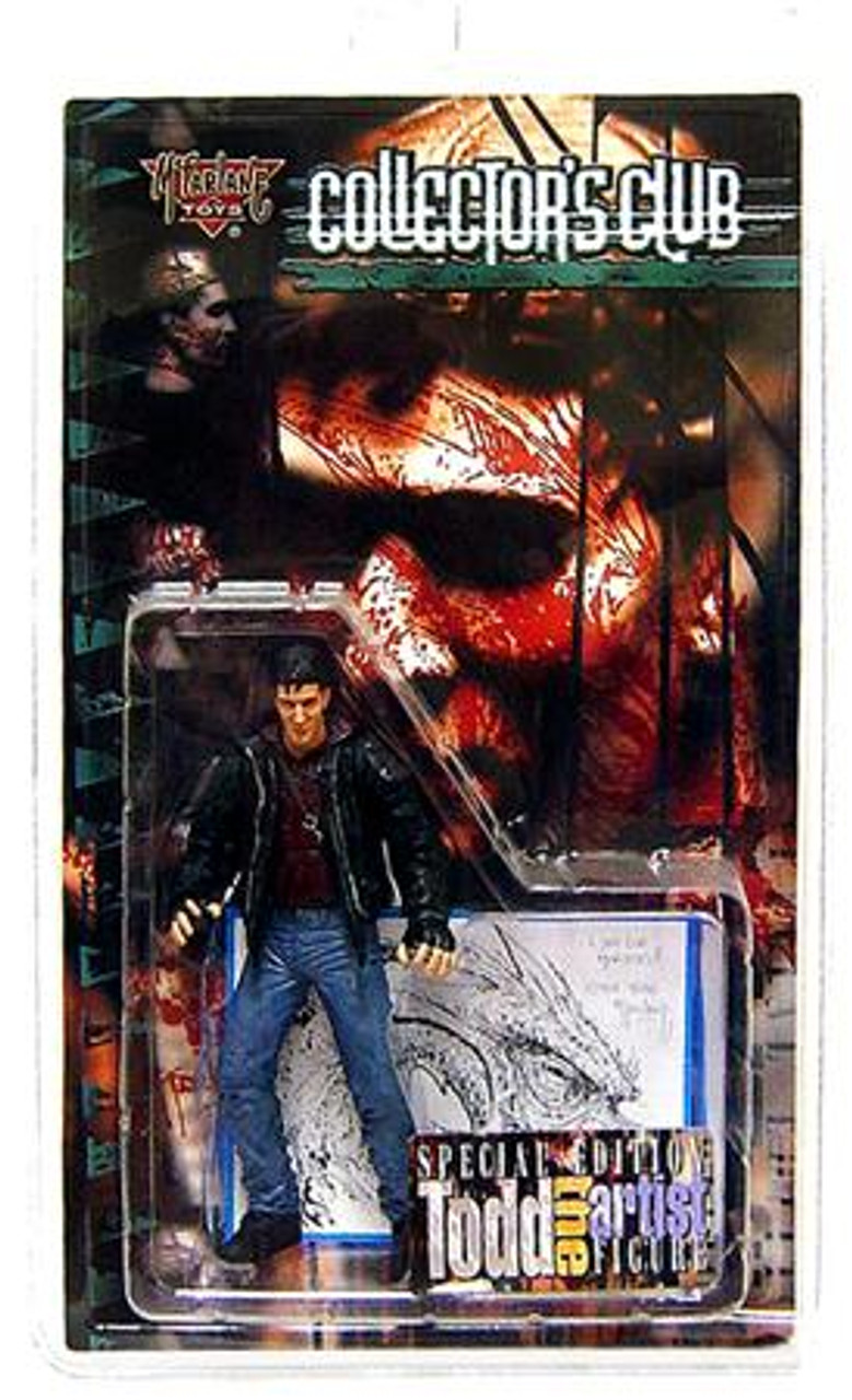 McFarlane Toys Spawn Collector's Club Todd the Artist Exclusive Action Figure