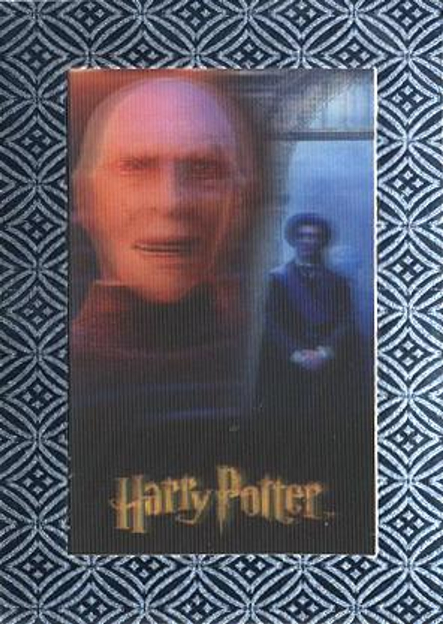 The World of Harry Potter Silver Chase Lord Voldemort & Quirrell UR1